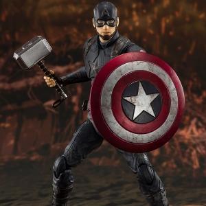 [S.H.Figuarts] 어벤져스 : 엔드게임 - 캡틴아메리카 파이널 배틀 에디션  [4573102587312]