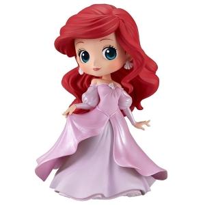 [경품피규어] 큐포스켓 인어공주 - 에리얼 프린세스 드레스 핑크 Ver.