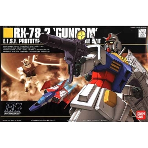[HGUC]1/144 RX-78-2 Gundam 퍼스트 건담[021][4573102607805]