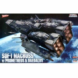 [마크로스 프라모델] 1/4000 SDF-1 마크로스 요새함 w/프로메테우스&다이달로스  [4967834658301]