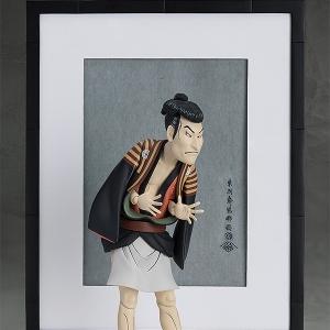 [피그마] 테이블 미술관 - 샤라쿠 작(作) 3대 오타니 오니지의 얏코에도베  [4571245297273]