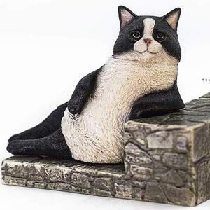 1/6 고양이 거리 이야기 시리즈 제2탄 한가로운 고양이 - 턱시도 고양이  [6972508520066]