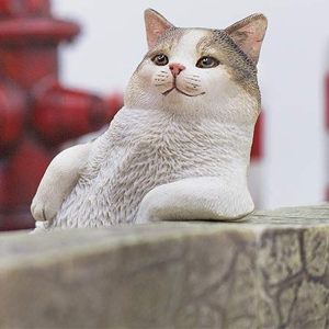 1/6 고양이 거리 이야기 시리즈 제2탄 한가로운 고양이 - 키지시로  [6972508520059]