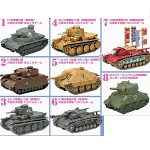 [랜덤발송] 걸즈앤판처 풀백 탱크 vol.3(1종랜덤발송)  [4582138603873]