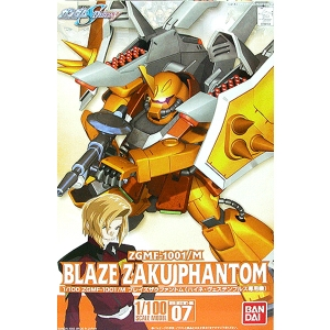 1/100 ZGMF-1001/M BLAZE ZAKU PHANTOM 브레이즈 자쿠 팬텀/하이네 전용 (07)[4543112341044]