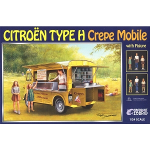 1/24 CITROEN H Crepe Mobile with Figure  [4526175250133]