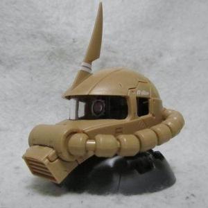 기동전사 건담 EXCEED 모델 자쿠 헤드 4탄 시크릿 사막형 양산형 자쿠2   [4549660270355]