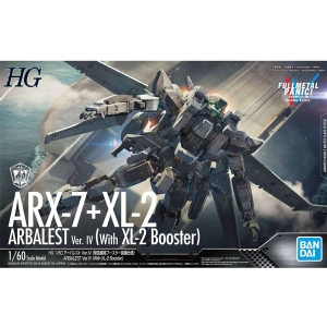 [HG] 1/60 풀메탈 패닉IV - ARX-7 아바레스트(XL-2 긴급전개 부스터 ) Ver.IV  [4573102567567]