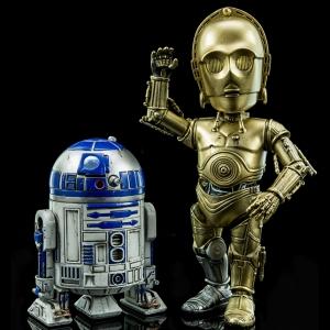 HMF#024 하이브리드 메탈 피규레이션 스타워즈 - C-3PO & R2-D2  [4897058780246]