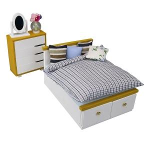 나노룸 NRB-002 침대&체스트 세트  [4972825206805]