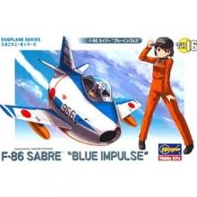 [계란비행기TH16] F-86 세이버 블루 임펄스  [4967834601260]