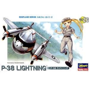 [계란비행기] P-38 라이트닝  [4967834601369]