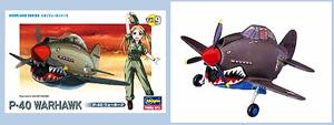 [계란형비행기] TH9 P-40 WARHAWK