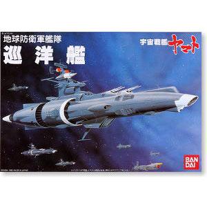 [우주전함 야마토] 1/270 지구방위군함대 순양함 상륙용셔틀포함