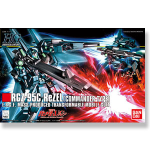 [HGUC 108] RGZ-95C 리젤 대장기  [4573102568328]