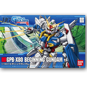 [HG001] 1/144  GPB-X80 비기닝 건담  [4543112652966]