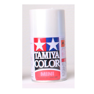 [TS-45] TAMIYA 스프레이(캔) 펄 화이트 PEARL WHITE [4950344993871]