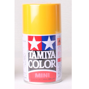 [TS-47] TAMIYA 스프레이(캔) 크롬 옐로우 CHROME YELLOW [4950344993895]