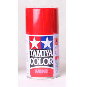 [TS-08] TAMIYA 스프레이(캔) 이탈리안 레드  ITALIAN RED [4950344993505]