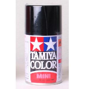 [TS-14] TAIMIYA 스프레이(캔) 블랙 BLACK [4950344993567]