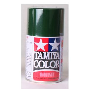 [TS-43] TAMIYA 스프레이(캔) 레이싱 그린 RACING GREEN [4950344993857]