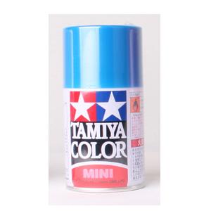 [TS-54] TAMIYA 스프레이(캔) 라이트 메탈릭 블루 LIGHT METALLIC BLUE [4950344993963]