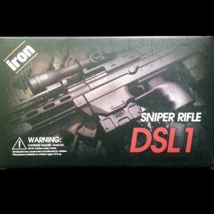 Wild Work 1/6 스나이퍼 라이플 DSL1(블랙)