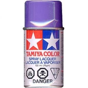 [TS-24] TAMIYA 스프레이(캔) PURPLE 보라색 [4950344993666]