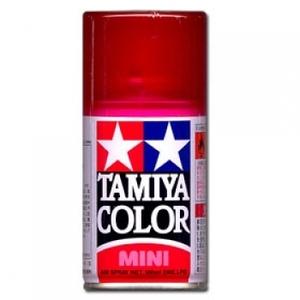 [TS-74] TAMIYA 스프레이(캔) 클리어 레드 (유광) [4950344994168]
