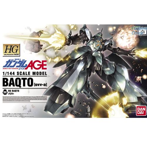 [HG AGE] 1/144 바쿠토  [4543112728210]