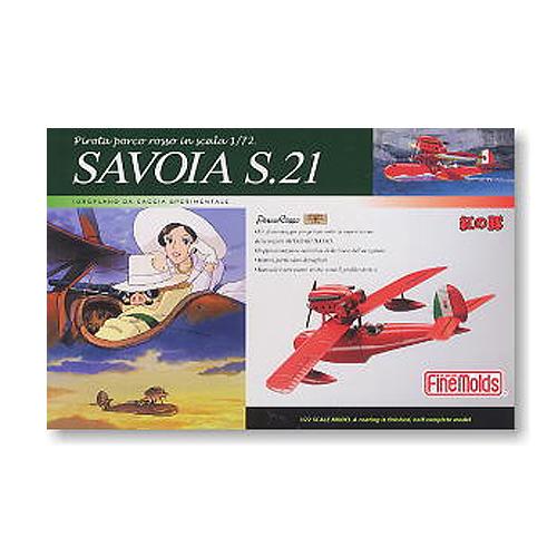 [지브리 프라모델] 1/72 도색완성품 SAVOIA S.21 붉은돼지 [PJ1n] [4536318621515]