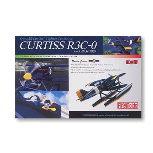 [지브리 프라모델] 1/72 도색완성품 CURTISS(카치스) R3C0 붉은돼지 [PJ-2n]  [4536318621522]