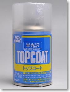 [B502] TOPCOAT 탑코트 (반광 마감제) [4973028540567]