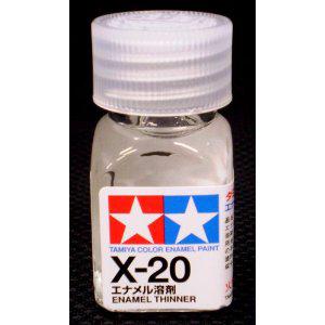[타미야][에나멜도료 X-20] 에나멜신너 10ml (광택) [45135194]