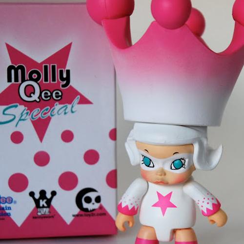 [toy2R] 몰리퀴 한정판 시리즈 Pink Ice Molly Qee