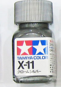 [타미야][에나멜도료 X-11] 크롬 실버 (유광) [45135101]