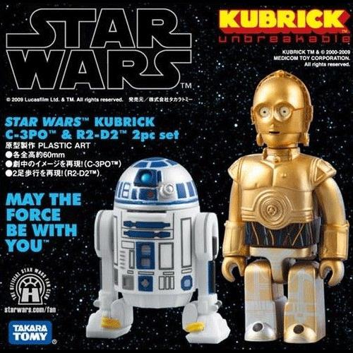 [큐브릭] 스타워즈 C-3PO & R2-D2  [4530956172552]
