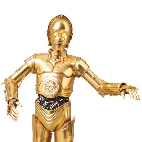 [메디콤토이 RAH] 스타워즈 피규어 C-3PO Talking ver. (토킹버젼)[4530956105802]