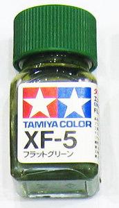 [타미야][에나멜도료 XF-5] 플랫 그린 (무광) [45135361]