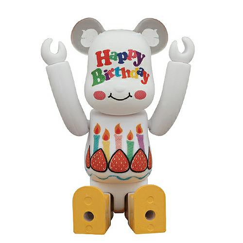 [베어브릭] 인사 시리즈 : 생일 축하 (Happy Birthday!!!) [4530956309514]