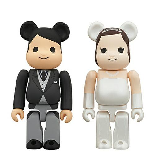 [베어브릭] 인사 시리즈 : 결혼 (Marry) [4530956309521]