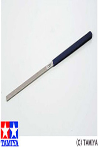PLASTIC MODELING FILE 크라프트 파일 Craft File Pro (Flat 6mm width) [4950344062478]