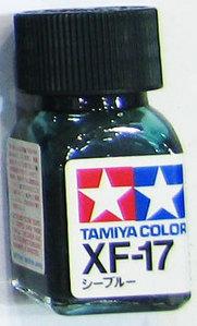 [타미야][에나멜도료 XF-17] 씨 블루 (무광) [45135484]