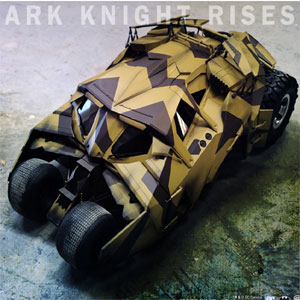 The Dark Knight Rises: 1/6th scale Tumbler (Camouflage Version) Collectible