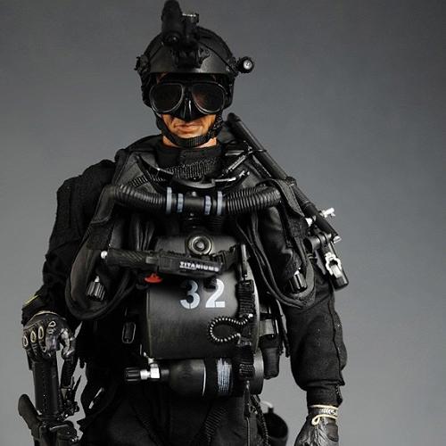 [30cm 밀리터리 피규어] U.S. NAVY SEAL SDVT-1 Combat Diver   [9020#]