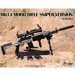 [밀리터리 피규어 루즈(부품)] Toys City mk14 Modo Rifle Sniper Verson   [62002A]