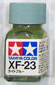 [타미야][에나멜도료  XF-23] 라이트 블루 (무광) [45135545]