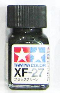 [타미야][에나멜도료 XF-27] 블랙 그린 (무광) [45135583]