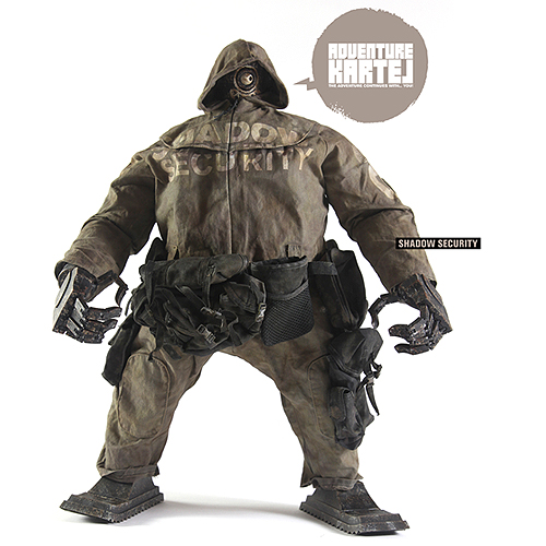 [애슐리우드 3A] Ashley Wood 3A 피규어 Ankou EX 3A threeA Shadow Security