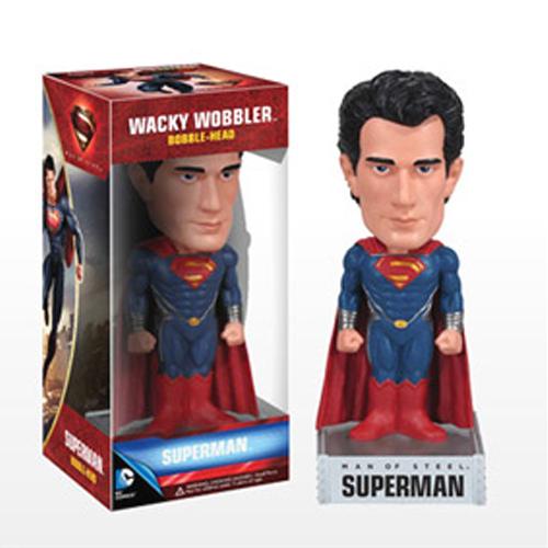 Wacky wobbler 맨 오브 스틸 슈퍼맨 [4580279608740]